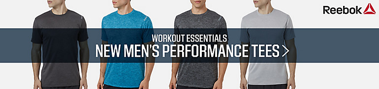Reebok Men's Performance Tees