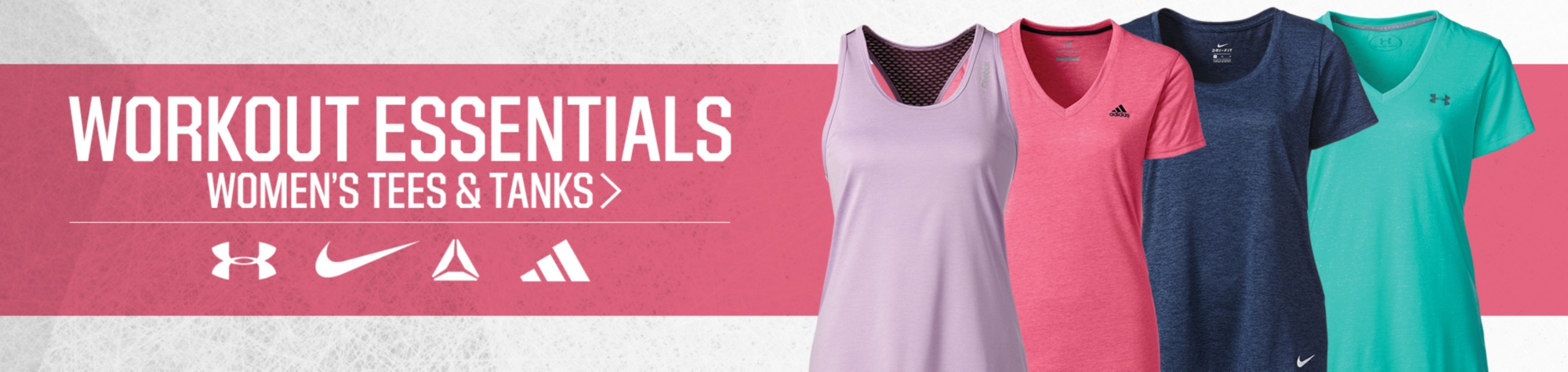 Workout Essentials - Women's Tees and Tanks