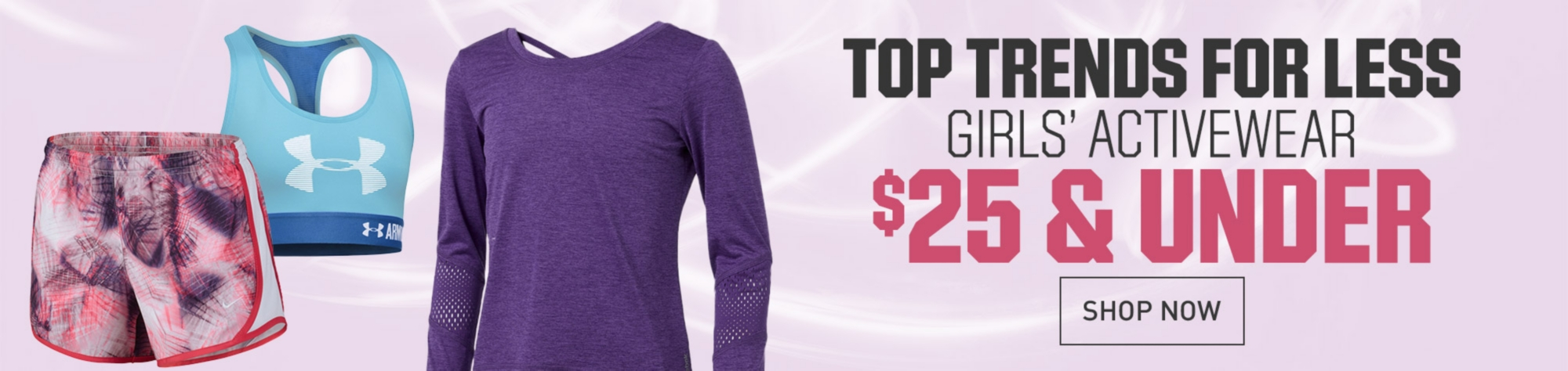Girls' Activewear Apparel $25 & Under