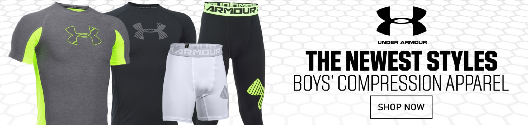 Boys' Compression Apparel - Under Armour