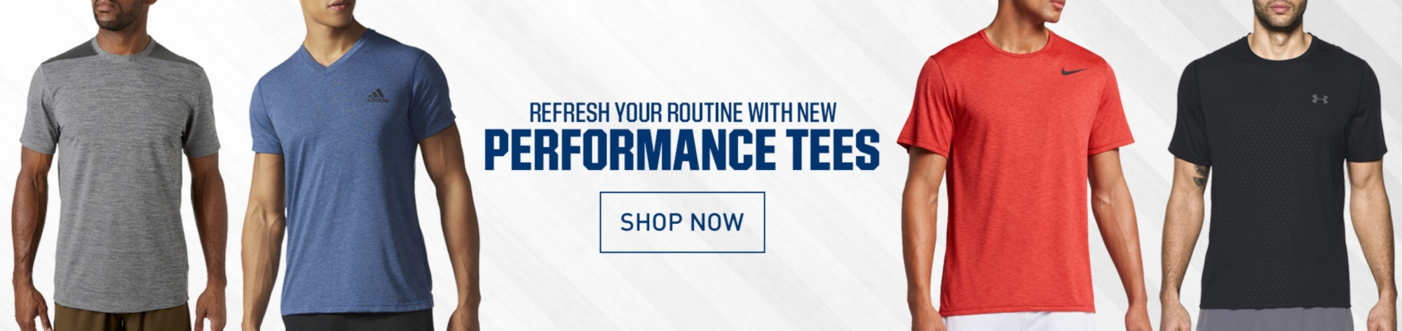 Men's New Performance Tees