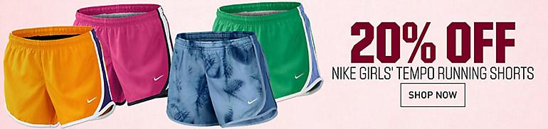 Shop Girl's Tempo Shorts