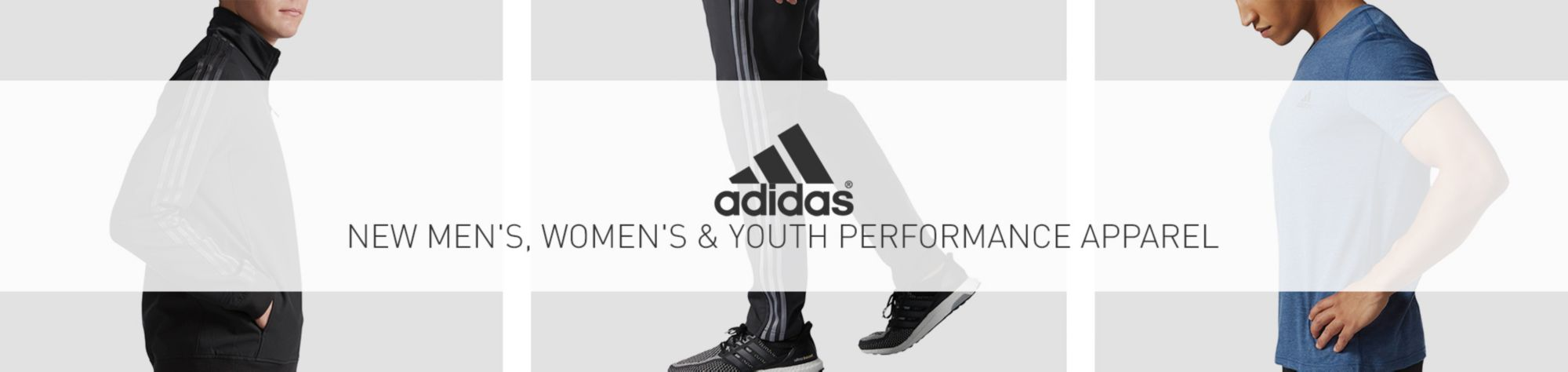 New Adidas Performance Apparel