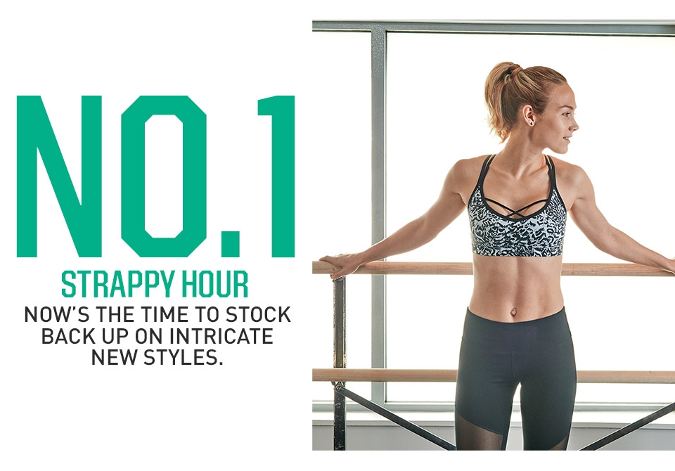 No. 1 Strappy Hour- Now's the time to stock back up on intricate new styles.