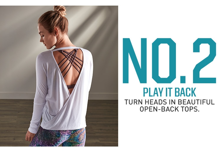 No. 2 Play It Back- Turn heads in beautiful open-back tops.