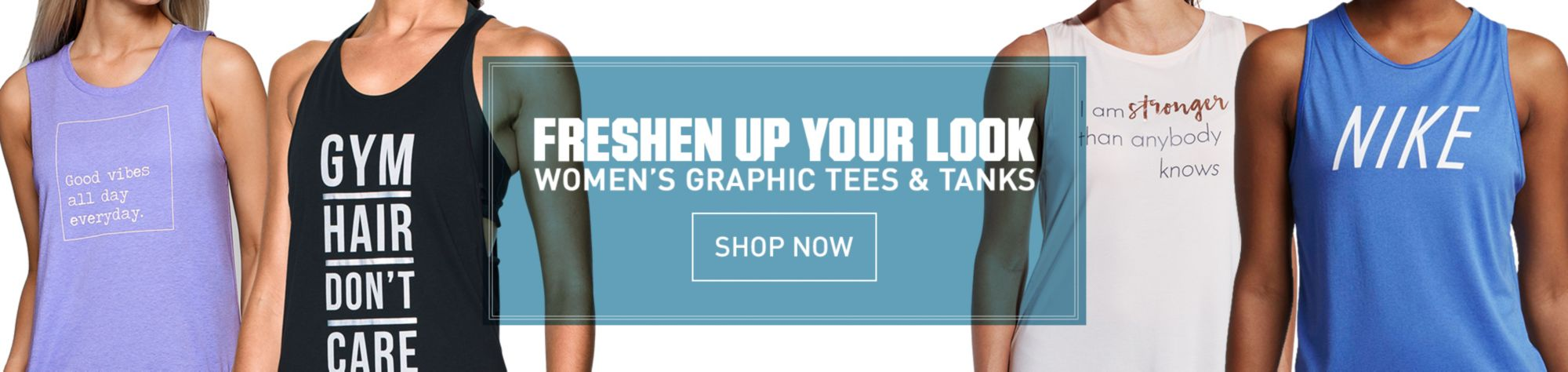 Women's Graphic Tees & Tanks