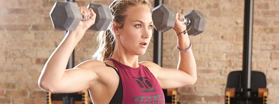 Five Exercises To Tone Up Your Triceps