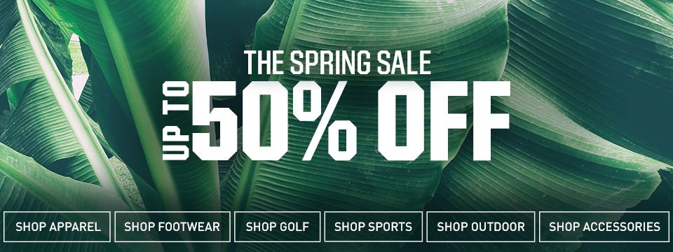 Shop The Spring Sale