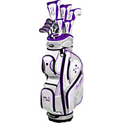 Tour Edge Women's Lady Edge 17-Piece Complete Set - (Graphite) - Plum