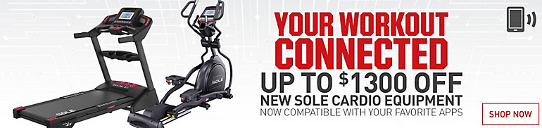 Save Up To $1300 On Sole Cardio New Arrivals