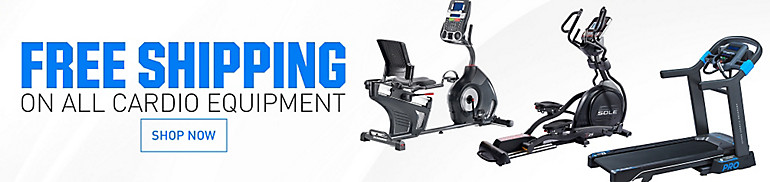 Free Shipping On Cardio Equipment
