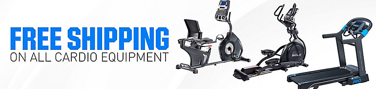 Free and $100 Shipping On Select Cardio Equipment