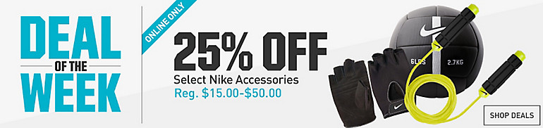 25% Off Nike Accessories