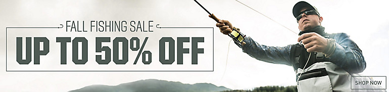 Shop Fall Fishing Sale