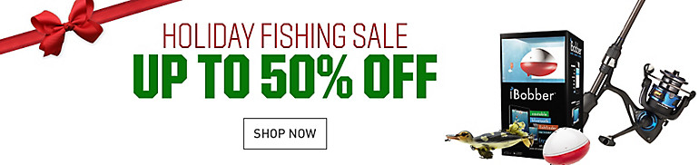 Shop Holiday Fishing Sale