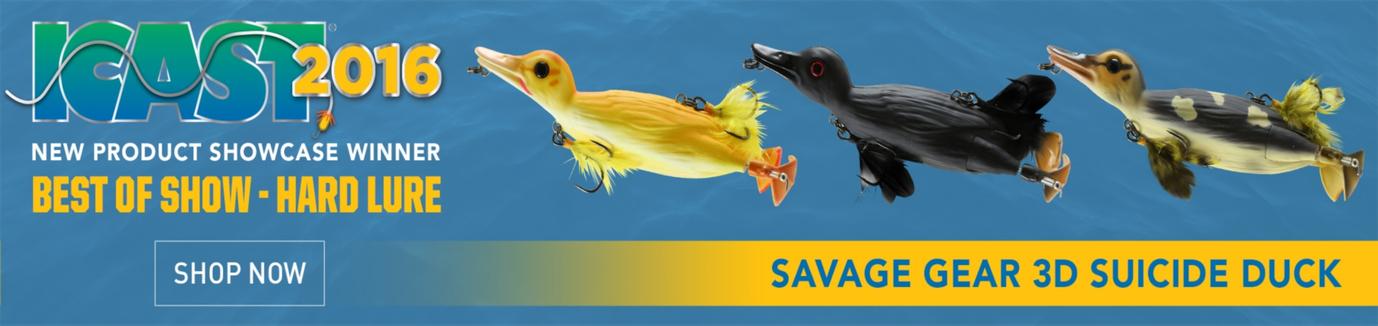 Savage Gear Top Water Rat & Duck