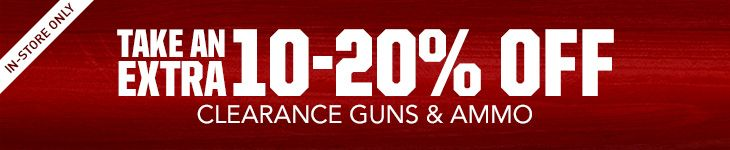 Shop Clearance Guns and Ammo
