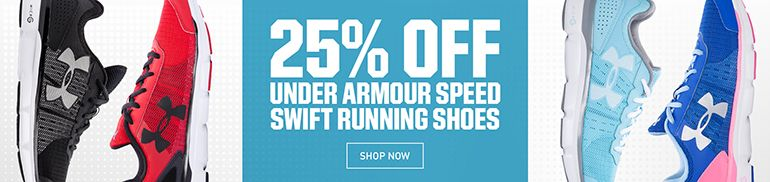 25% Off Under Armour Speed Swift Shoes