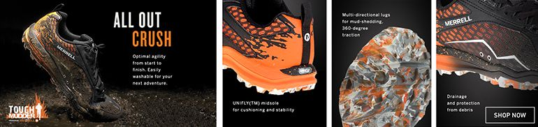 Merrell All Out Crush Tough Mudder Trail Running Shoes
