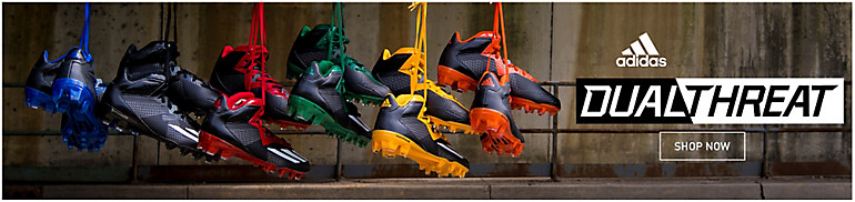 adidas Dualthreat Mid Football Cleats