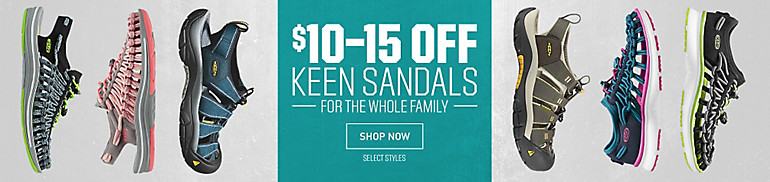 Up to $15 Off Select KEEN Sandals