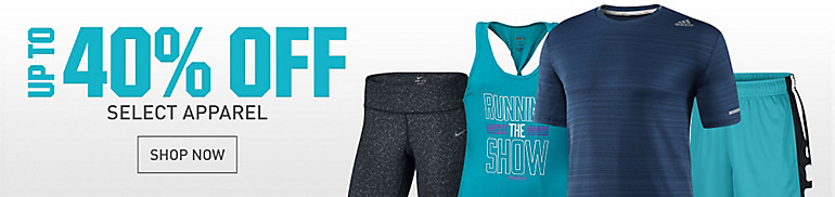 Up to 40% Off Select Athletic Apparel