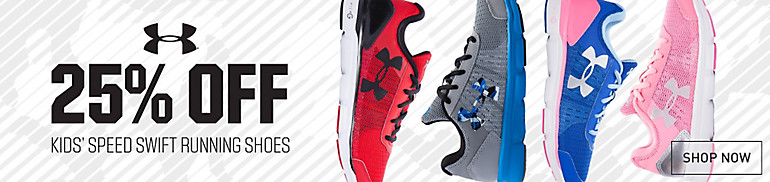 25% Off Under Armour Kids Speed Swift Running Shoes