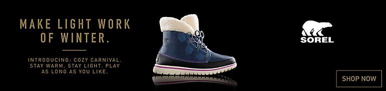 SOREL Women's Cozy Carnival Winter Boots