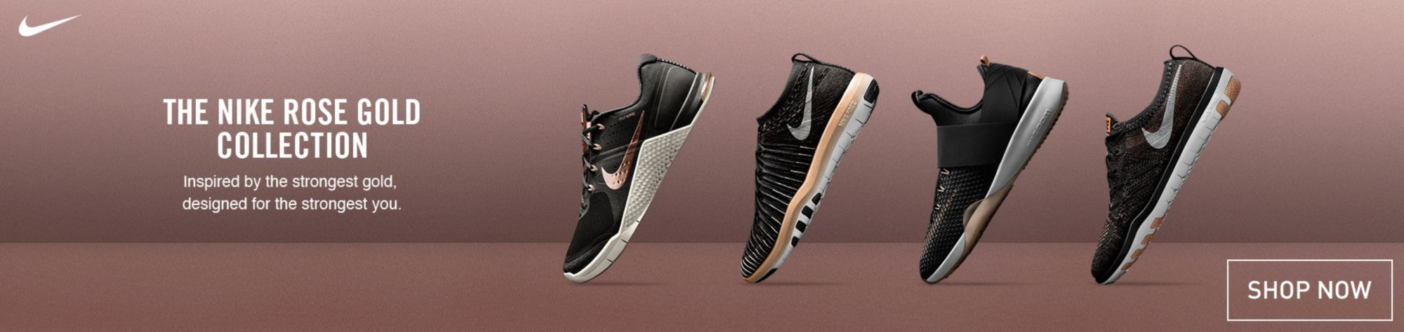 Nike Rose Gold Collection