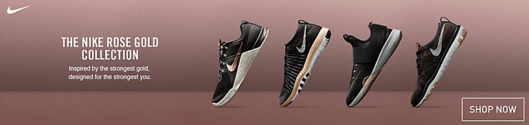 Nike Rose Gold Footwear Collection
