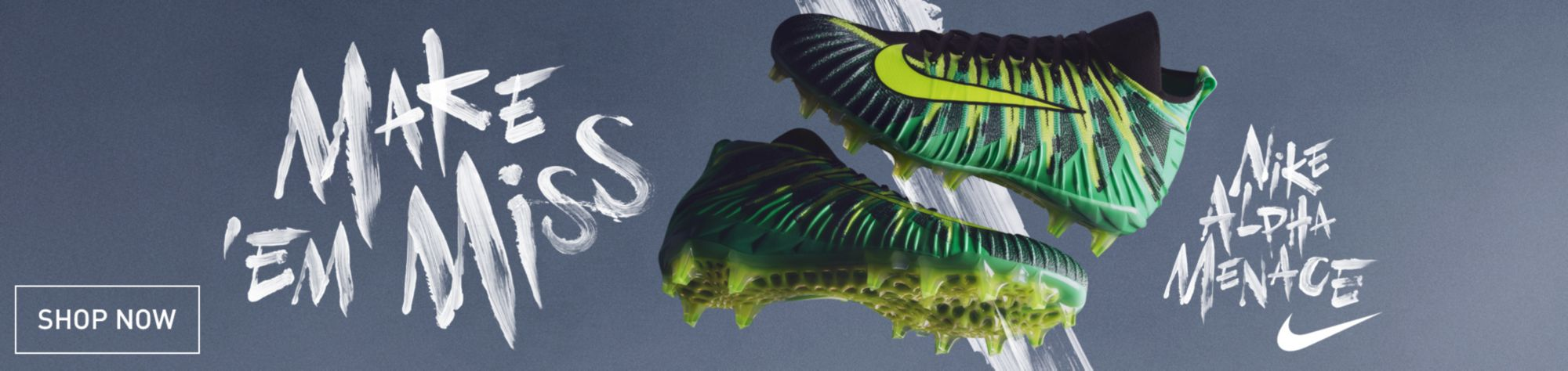 Shop Nike Alpha Football Cleats