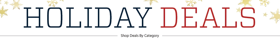 Shop Holiday Deals by Category