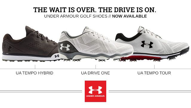 Under Armour Golf Shoes | Now Available