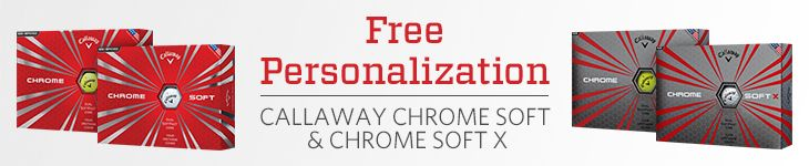 Free Personalization | Callaway™ Chromesoft and Chromesoft X