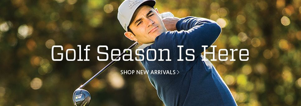 Golf Season Is Here Shop New Arrivals