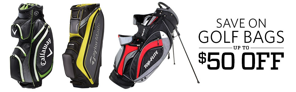 Save on Golf Bags