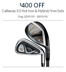 Save on Callaway Iron Sets