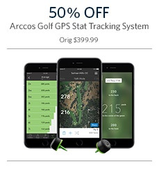 50% Off on Golf GPS Tracking Systems