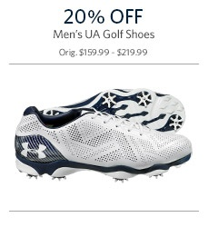 20% Off on UA Shoes