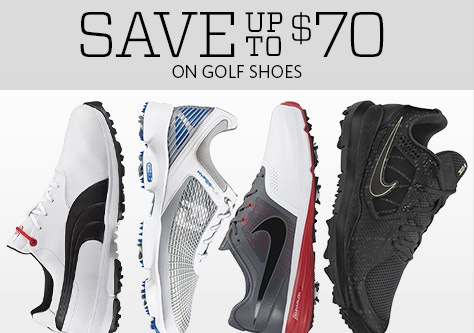 Save up to $70 on Golf Shoes