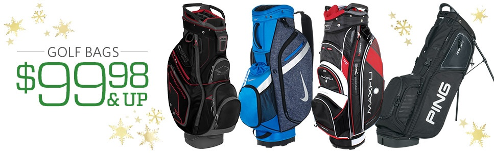 Golf Bags Starting at $99.98 & Up