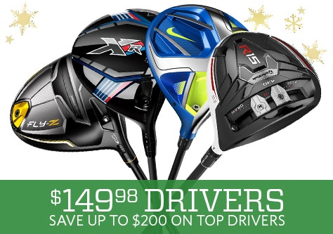 Save up to $200 on top drivers