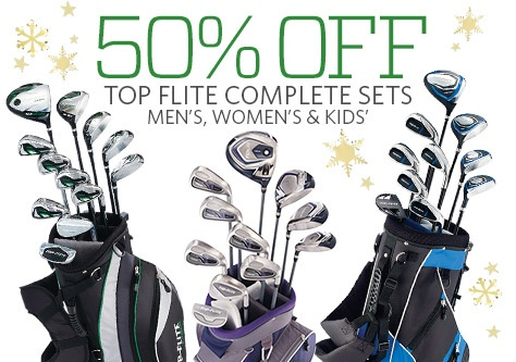 50% Off Top Flite Complete Sets for Men, Women, and Kids'