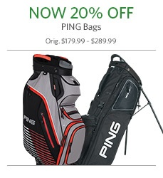20% Off PING Bags