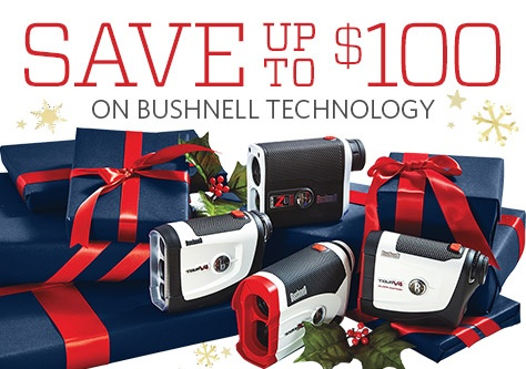 Save up to $100 on Bushnell Technology