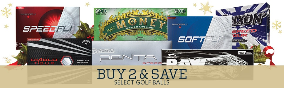 Buy 2 & Save on Select Golf Balls