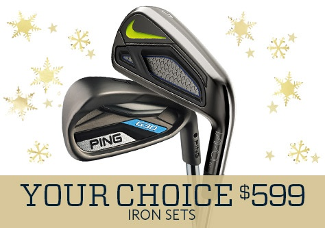 Your Choice Iron Sets $599