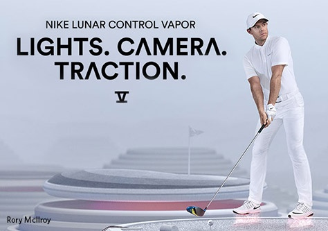 Shop Nike Lunar Control Vapor Golf Shoes