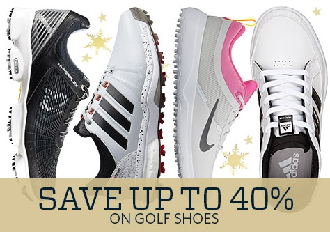Save up to 40% on Golf Shoes