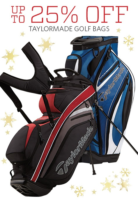 Up to 25% Off on TaylorMade Golf bags